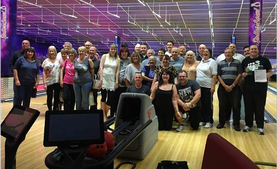 Strike! Bowlers smash fundraising record in Collier Row