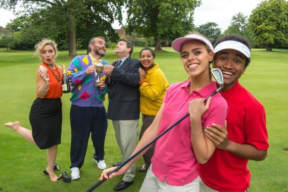 Win tickets to see A Fox on the Fairway at Queen's Theatre, Hornchurch