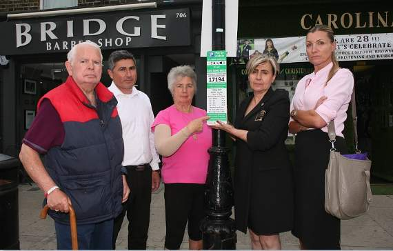 'We are being treated like guinea pigs': Redbridge business community voices outrage over parking system