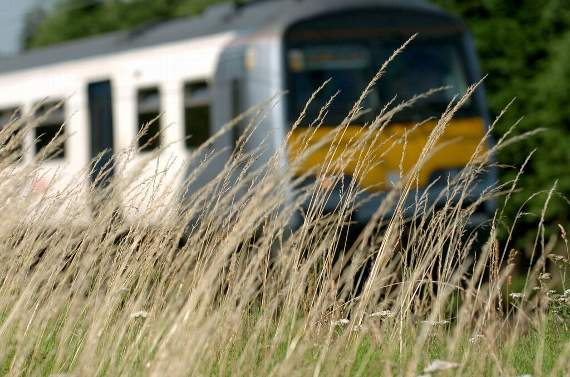 Bad news! All trains to London are CANCELLED due to damaged overhead wires